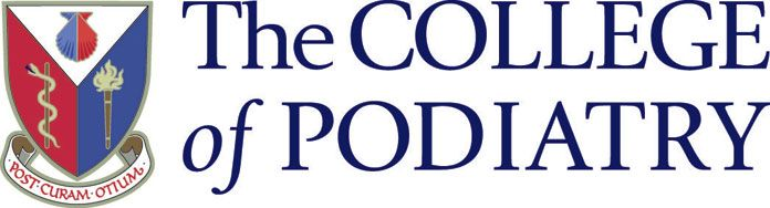 Logo of the college of podiatry